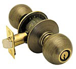 Schlage Orbit Keyed Entry Knobset